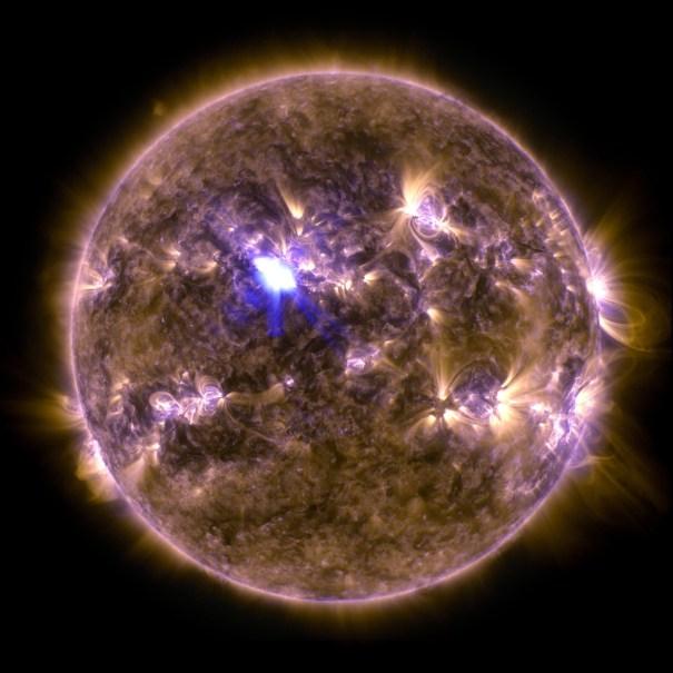 Solar system – Sun, Mercury, Venus, Earth, Mars, Jupiter