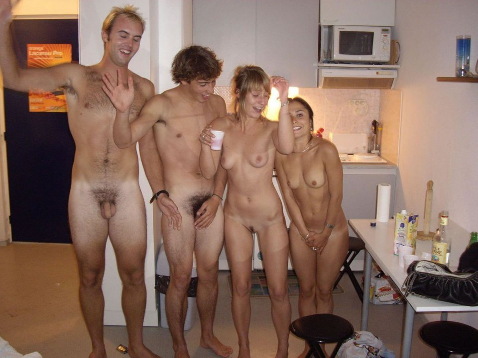 Embarrassed sister nude