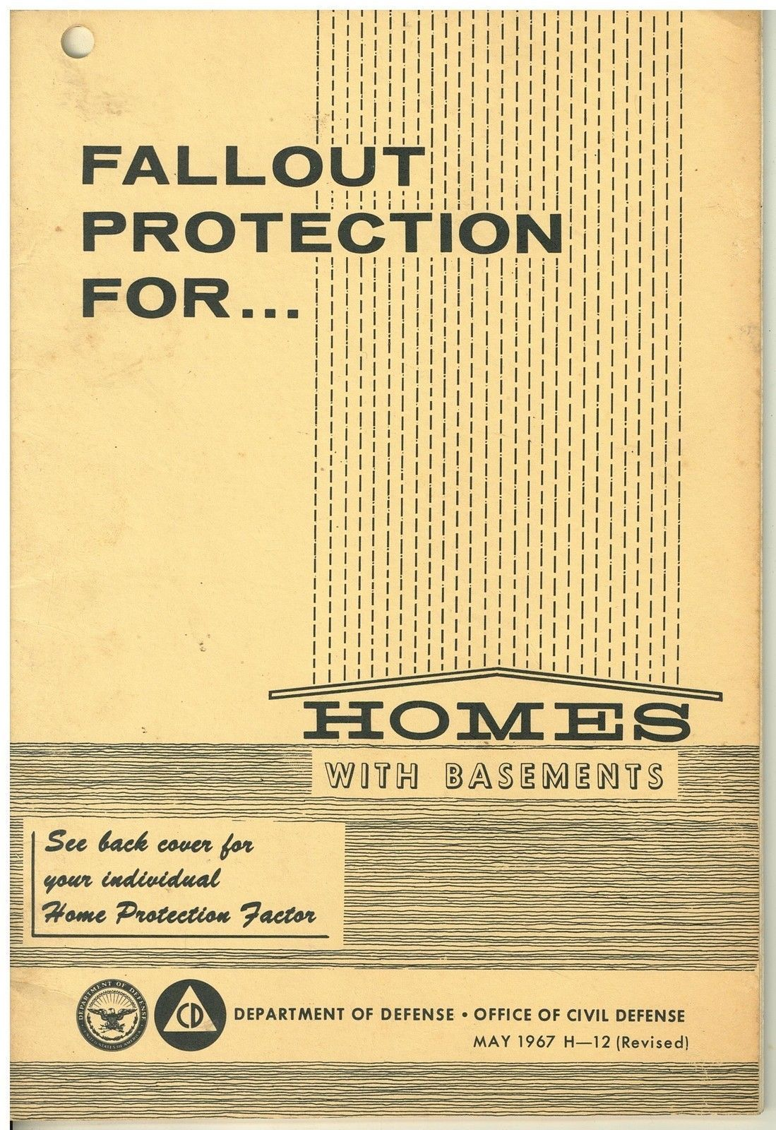 Fallout Protection for Homes with Basements - 1967