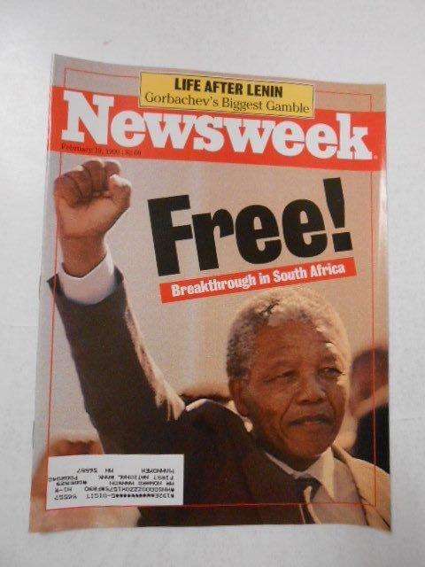 Oggi, nel 1990, Nelson Mandela veniva liberato dopo 27 anni di prigionia per le sue lotte contro l'apartheid #Madiba