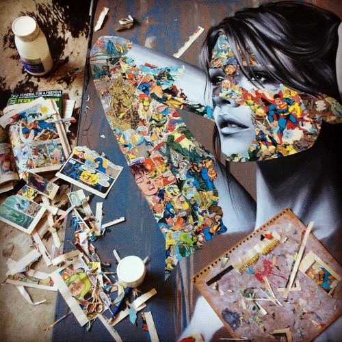 hiplillady:  Sandra Chevrier, studio momentsarrestedmotion.com
