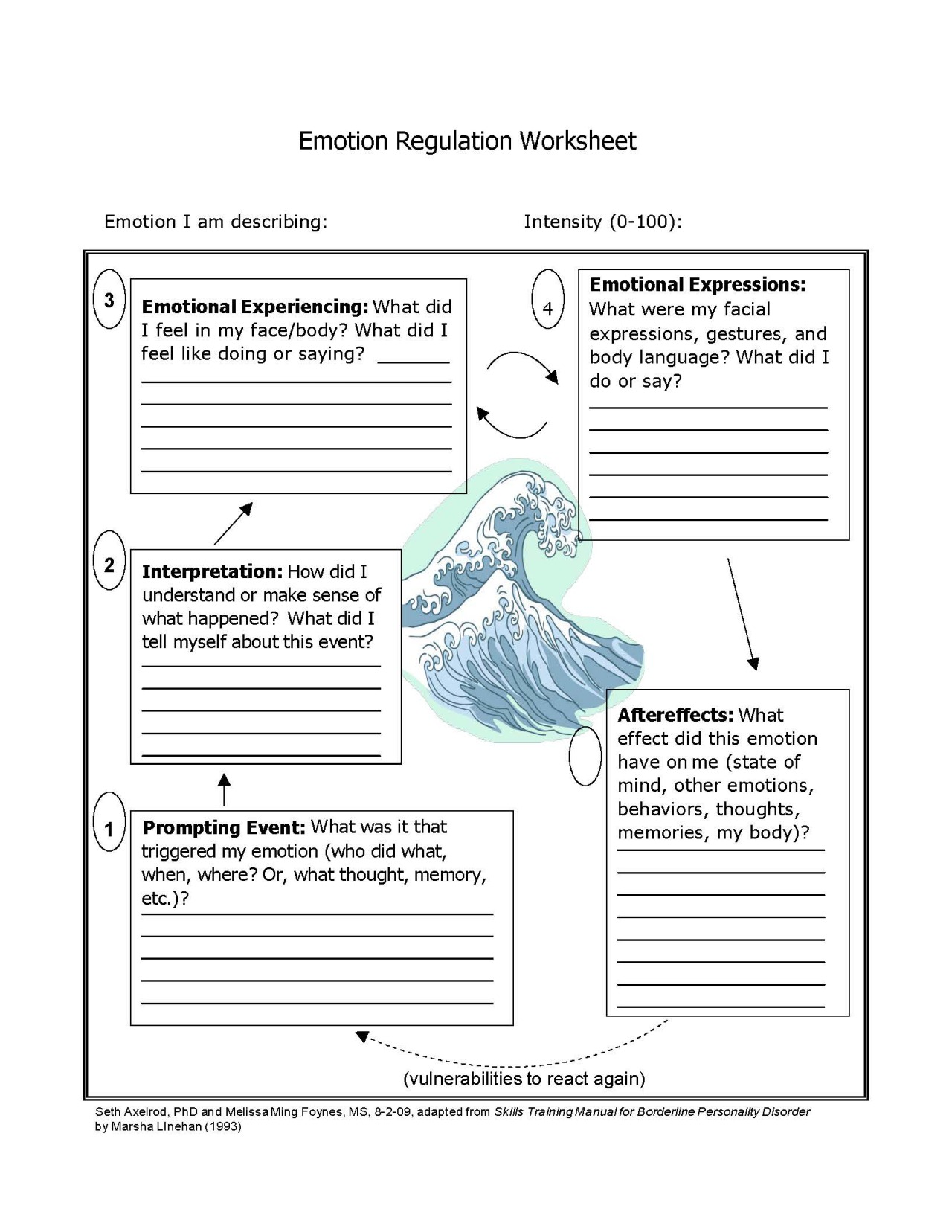 Healing Schemas Worksheet
