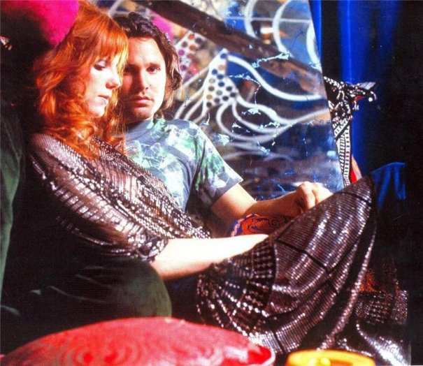cd8178c862 Jim Morrison & Pamela Courson, in the boutique she ran from… – Glamrock