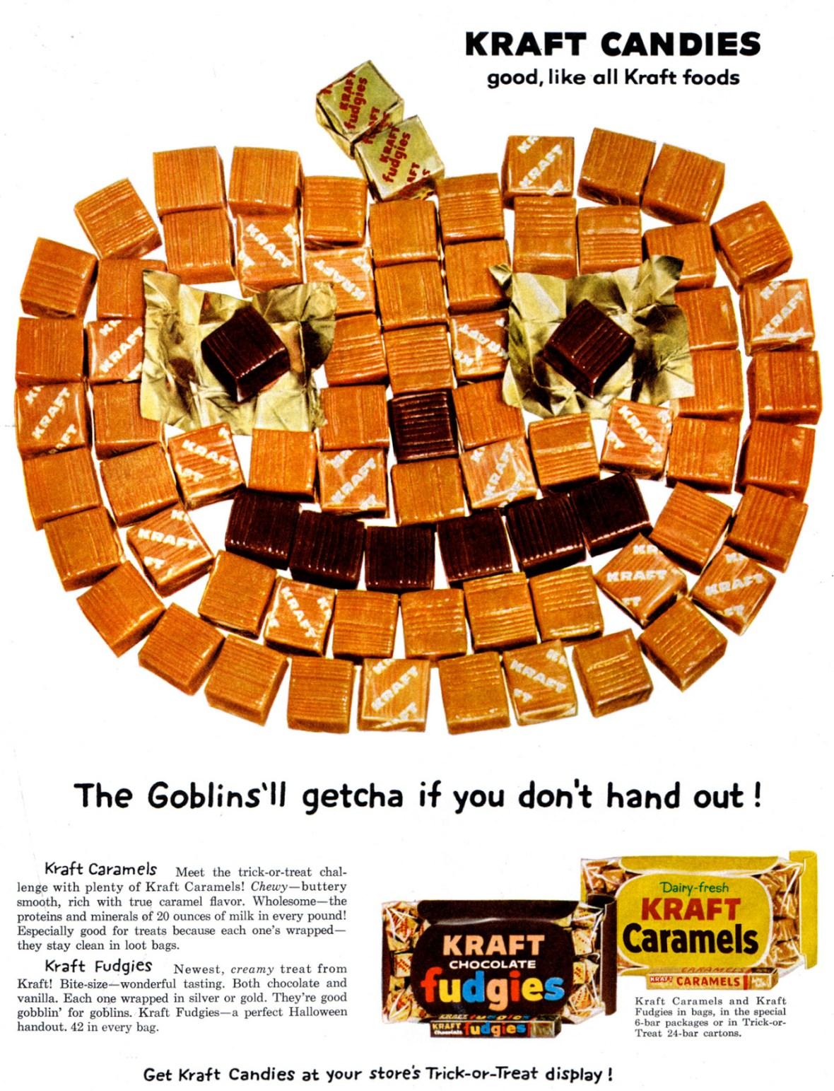 Kraft Candies - 1959