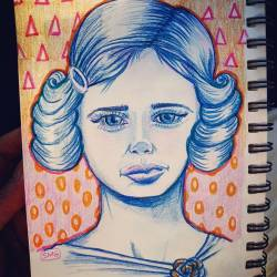 Blue, Oh, so lonesome for youWhy can't you be blue over me? #drawdrawdraw #illustration #journal #perthcreatives #perthartist #pencildrawing #art #doodles #blue #portrait #sketching #sketch #patterns