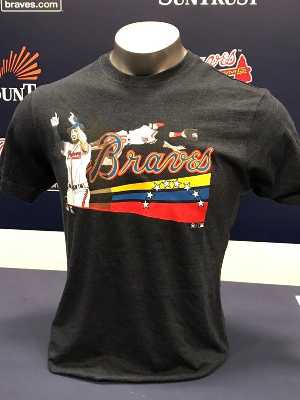 purchase cheap b3b3f eba5e T-Shirts designed by Ender Inciarte and Brandon Phillips ...