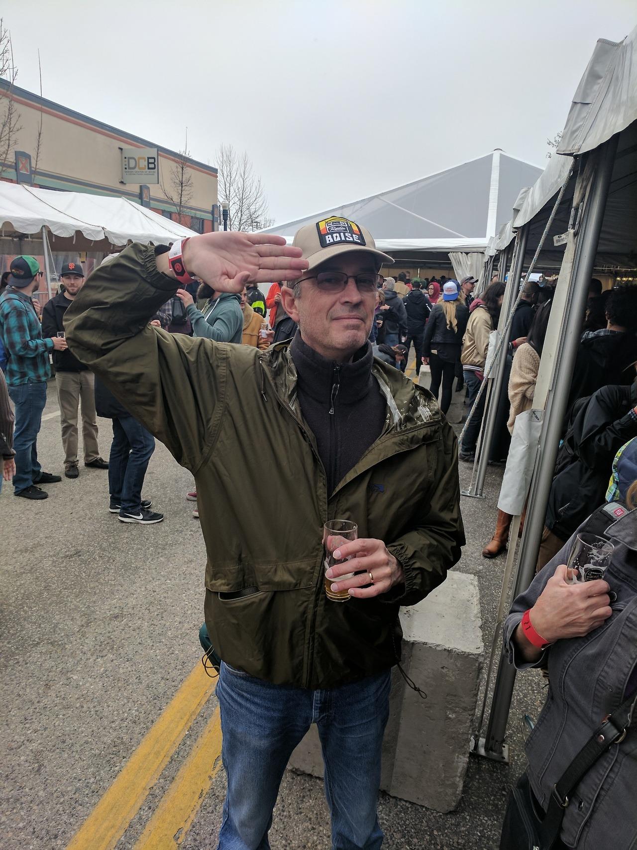 Radio Boise fans in Alefort! -stg