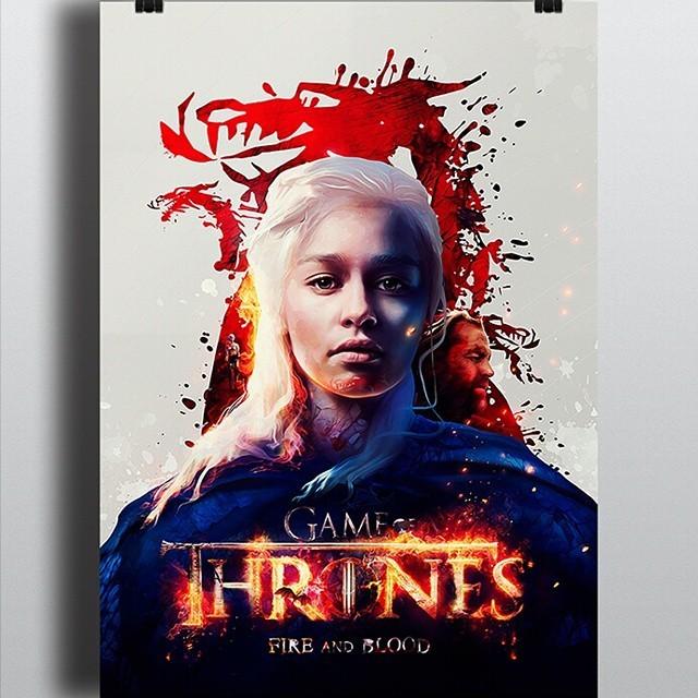 Poster do filme A Fogo e Sangue