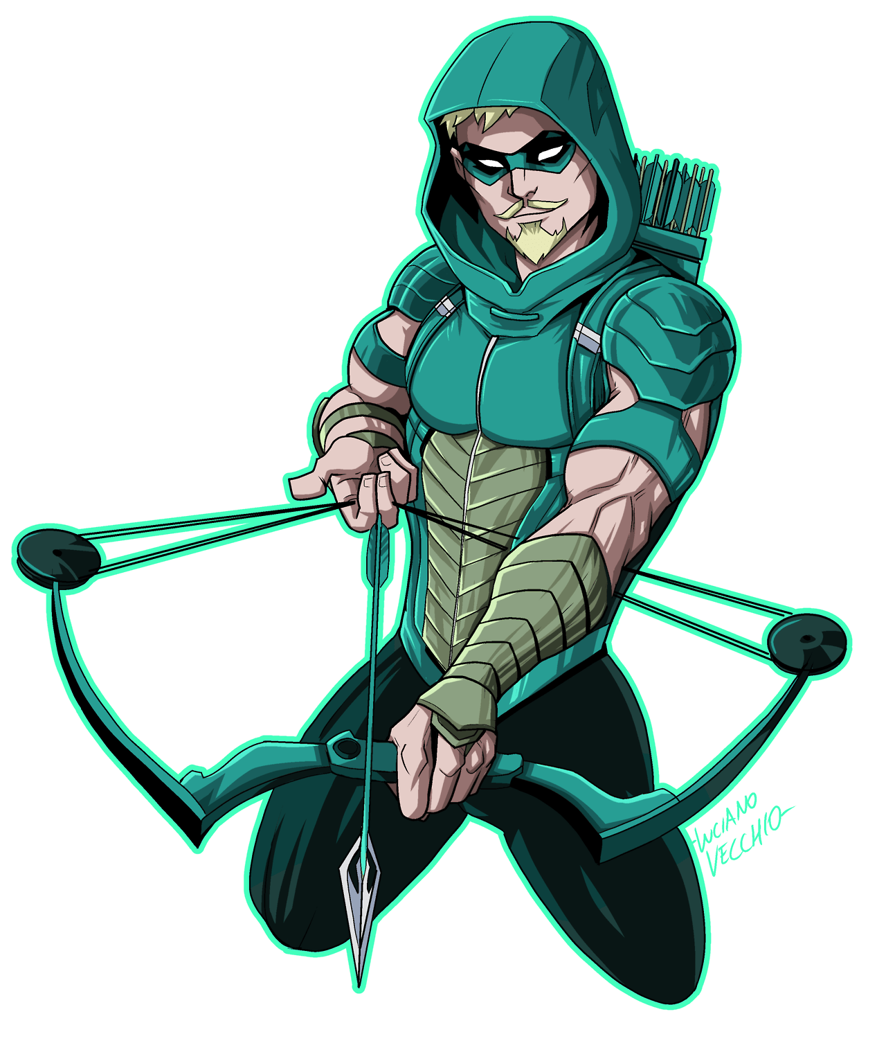 Lucianovecchio Green Arrow Rebirth