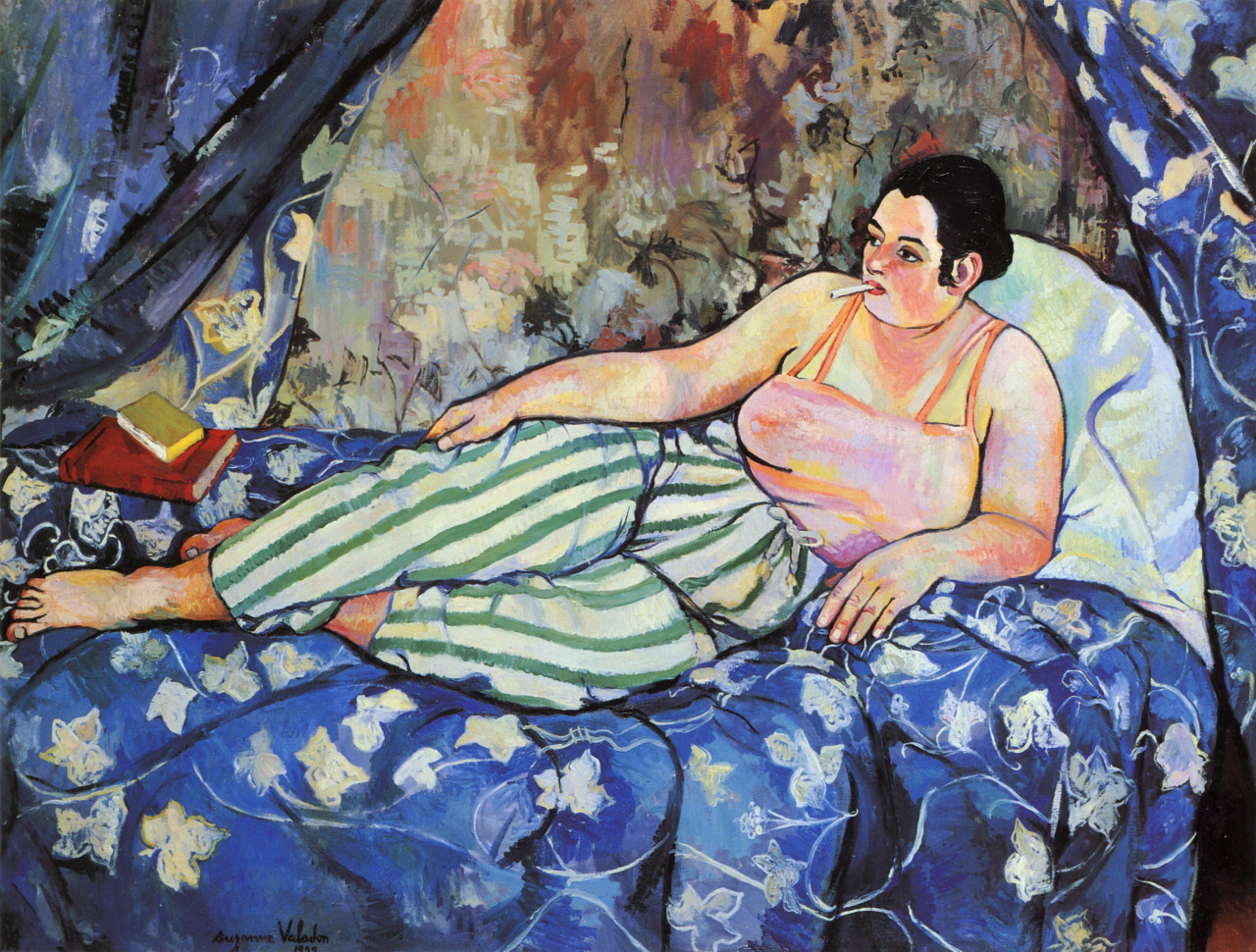 "artimportant: ""Suzanne Valadon - Blue Room, 1923 """