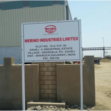 Merino Industries launches new manufacturing plant in Dahej