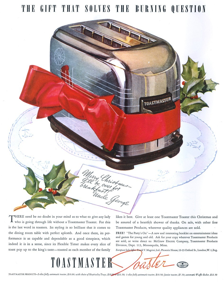 Toastmaster - published in Collier's - December 4, 1937