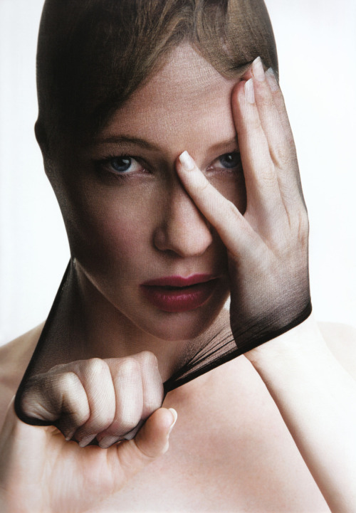 "suicideblonde:"" Cate Blanchett photographed by Patrick Demarchelier """