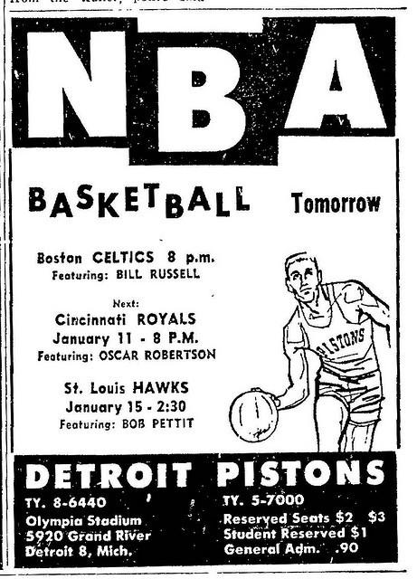Pistons Stadium View Detroit