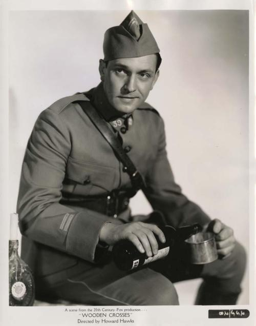 Fredric March in the retitled The Road to Glory