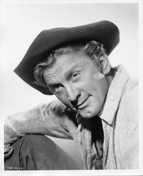 Kirk Douglas in a publicity still for The Big Sky