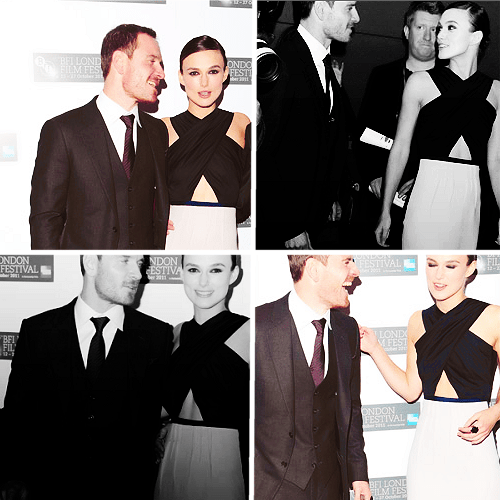 Image result for keira knightley and michael fassbender