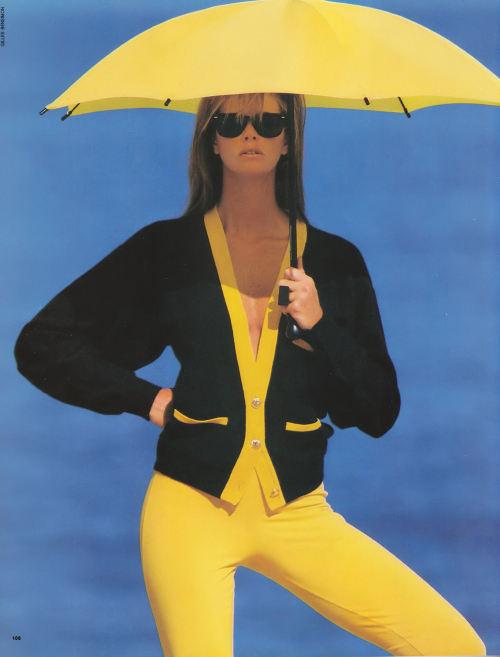 knitGrandeur: Black & Yellow Color Block