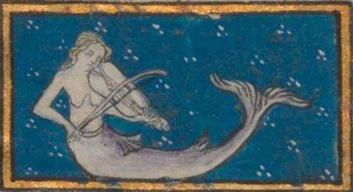 Image result for mermaid 15th century