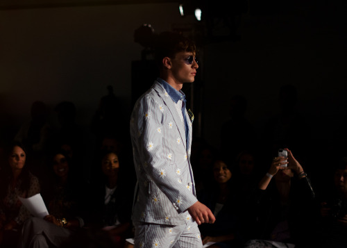 The power of daisy at Mark McNairy S/S 2013 collection.