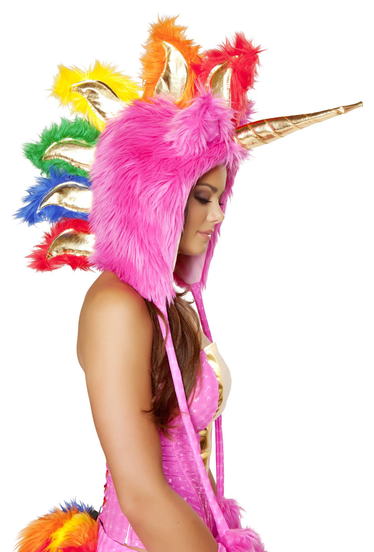 Josie Stevens Josie Loves J Valentine Pink Unicorn Hood