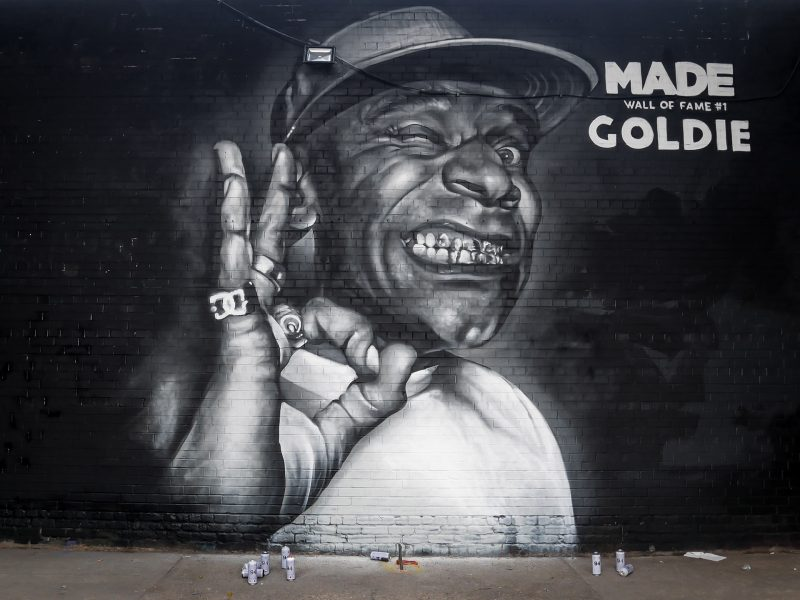 MADE Festival Induct Goldie Into Wall Of Fame With Stunning Graffiti Mural In Digbeth