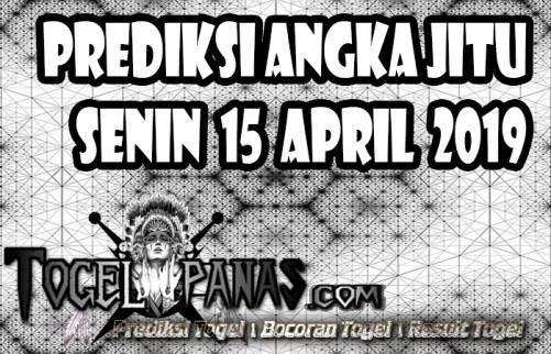 Prediksi Angka Jitu Togel Senin 15 April 2019