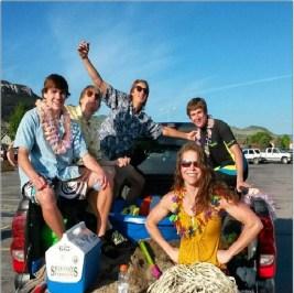 senior prank beach party