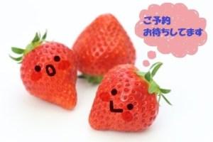 吹き出しイチゴ 予約