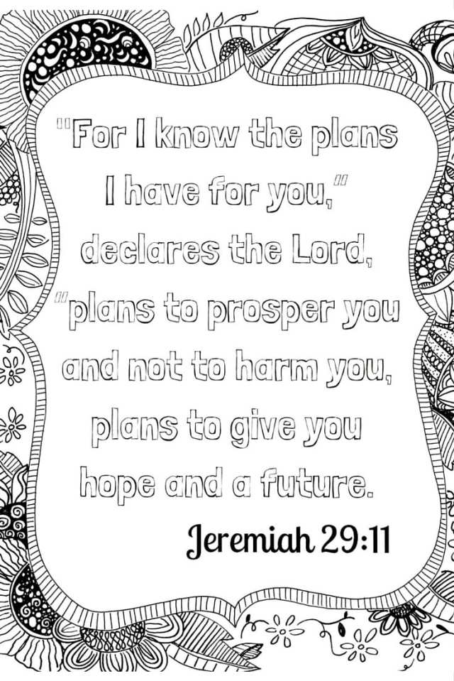 Scripture Meditation: Free Adult Coloring Printable - Family Style