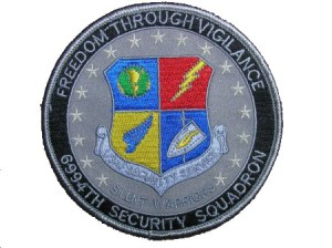 6994th Freedom Through Vigilance Silent Warriors Patch.