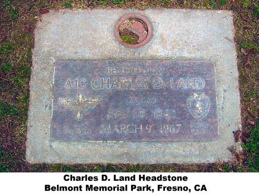 Charles D. Land Headstone.jpg