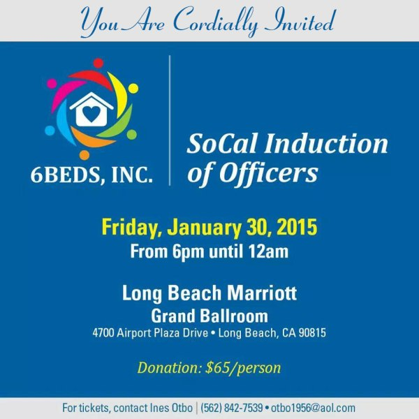 6Beds, Inc., SoCal Induction of Officers