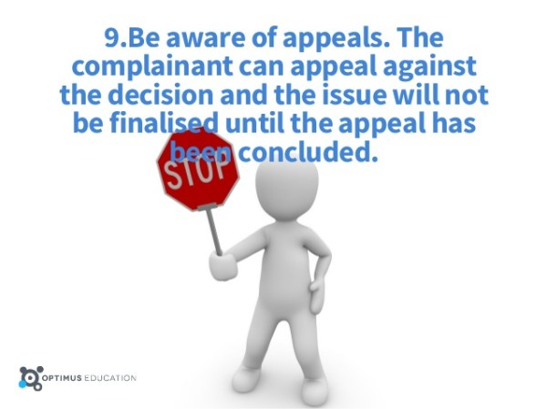 Blog - Complainant Appeal Process - Photo