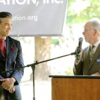 Assembly Member Rob Bonta with Ron Simpson
