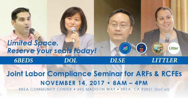20171114 6Beds Labor Compliance Seminar
