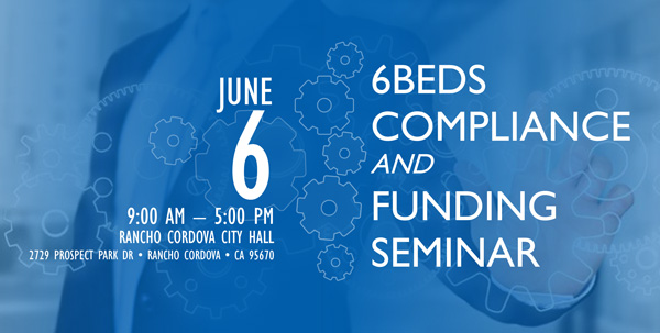 Jun 6, 2018 - Compliance & Funding Seminar