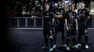 10. Manchester City's blacks make a statement where ever they go. It's an intimidating change from a team that's accustomed to their usual powder blues.