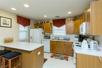 The kitchen of 5811 Cougar Lane.