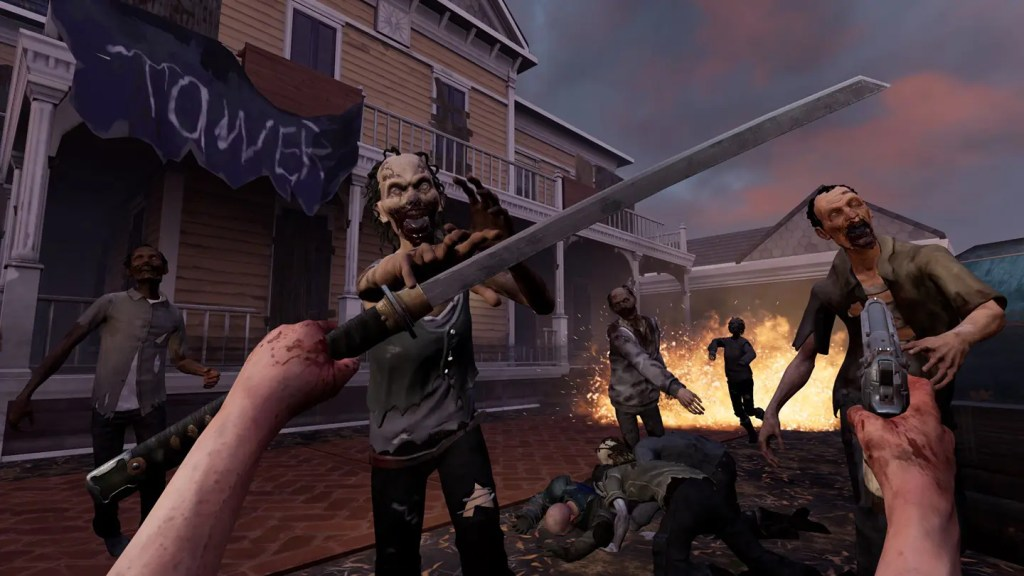 The Walking Dead: Saints & Sinners oculus quest game review