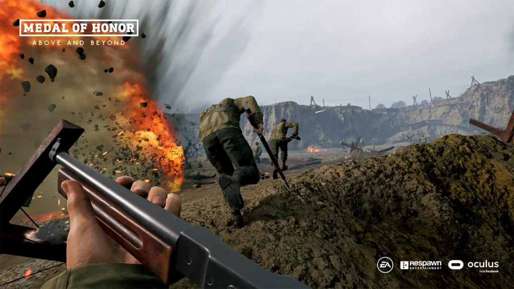 medal of honor above and beyond oculus quest link