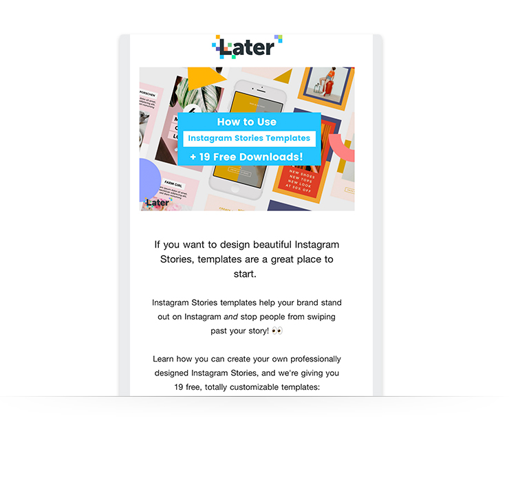 Newsletter Example: SaaS and Software Companies