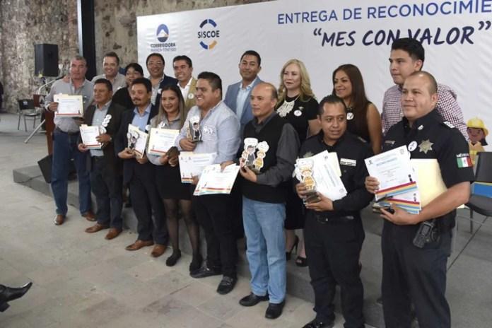 Reconocen legalidad, eficiencia y profesionalismo de empleados de Corregidora