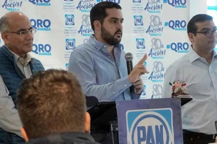 Diputados locales del PAN respaldan tarifa preferencial al Qrobús