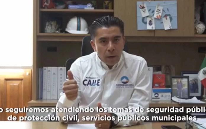 Pide Roberto Sosa a ciudadanos de Corregidora atender medidas estatales ante contingencia por COVID-19