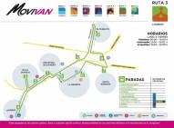 Movilidad Vecinal Corregidora Ruta 3