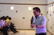 Guillermo Lozano se reunió con dirigencia y militancia en el municipio de El Marqués