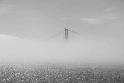 Golden Gate im Nebel VI