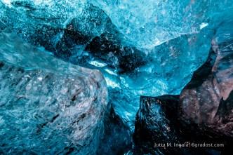 Pures Eis - kalt und mächtig