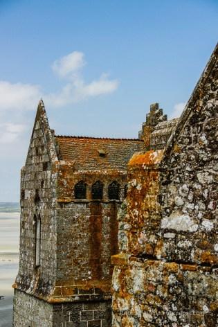Kloster auf dem Mont Saint Michel